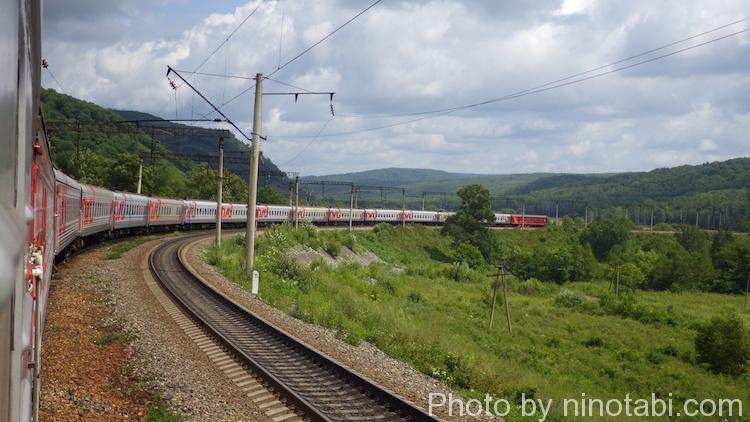 走り続けるシベリア鉄道