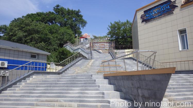 ウラジオストク要塞博物館入口