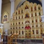ポクロフスキー聖堂内のイコン