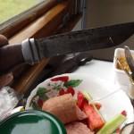 アンドリューの持っていたナイフ