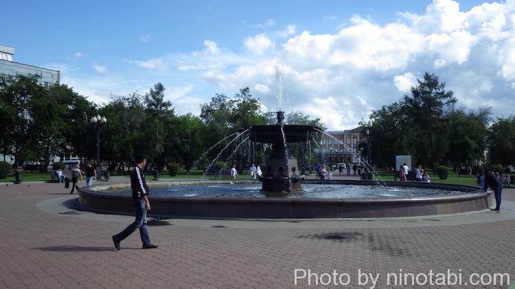 キーロフ広場噴水