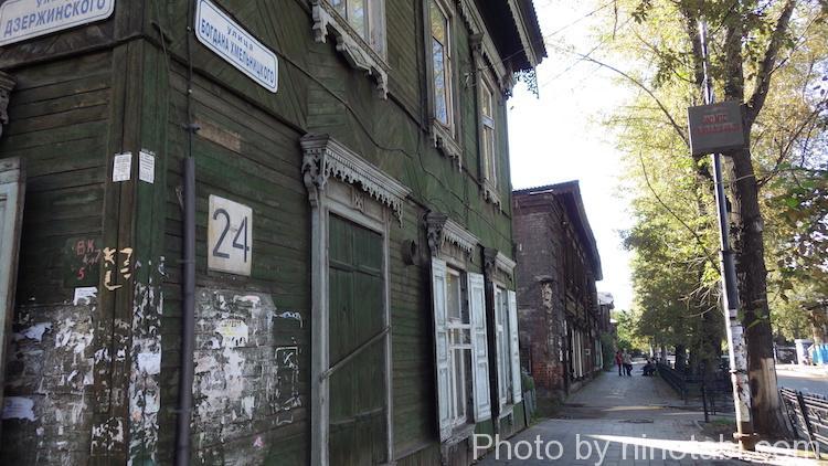 イルクーツクの古い家