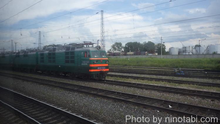 シベリア鉄道中部で使われてる列車