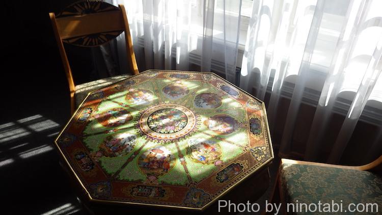 綺麗なテーブル