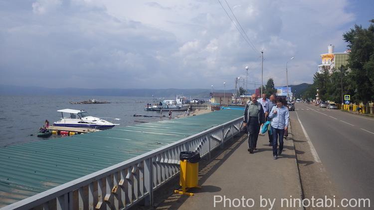 バイカル湖半のリストビャンカ