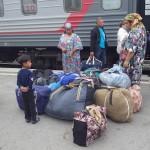 中央アジアへ抜けるであろう人たち