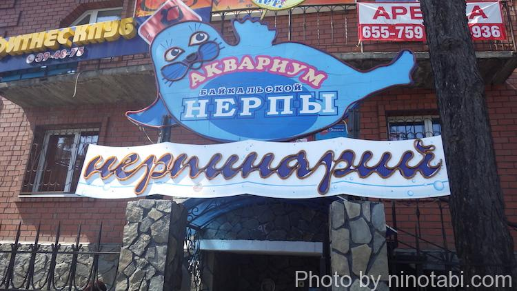 ネルパ水族館入口