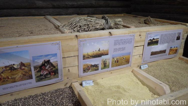 穀物などの備蓄倉庫