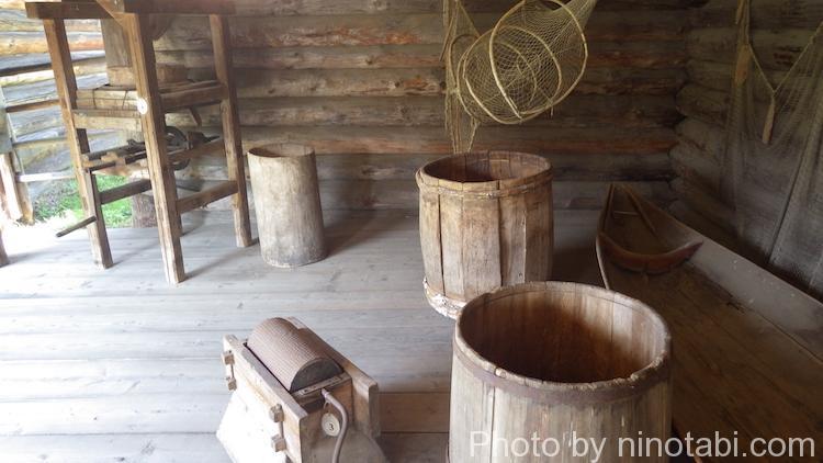 保存用の樽?