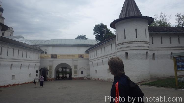 アンドレイ・ルブリョフ記念美術館入口
