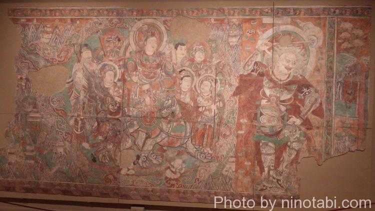 敦煌石窟の壁画