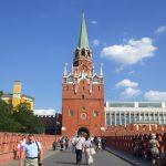 クレムリントロイツカヤ塔入口
