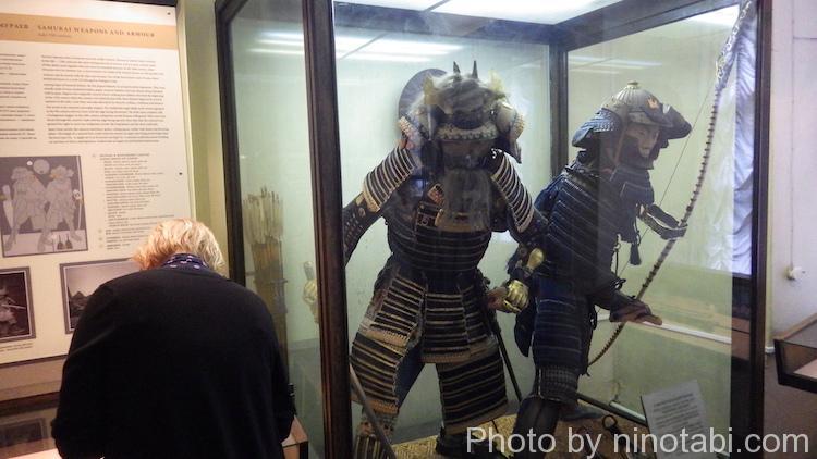 武者の展示