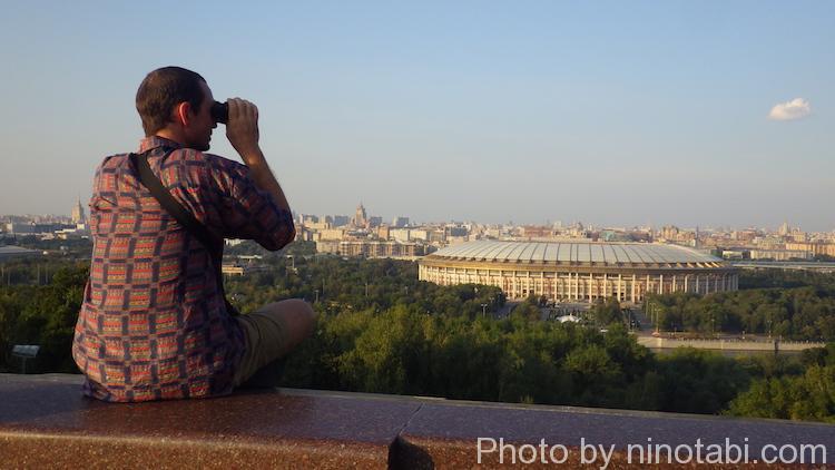 モスクワの夕焼け