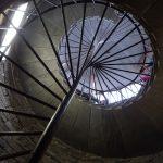 展望台への螺旋階段