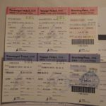 DBSクルーズフェリーの乗船チケット