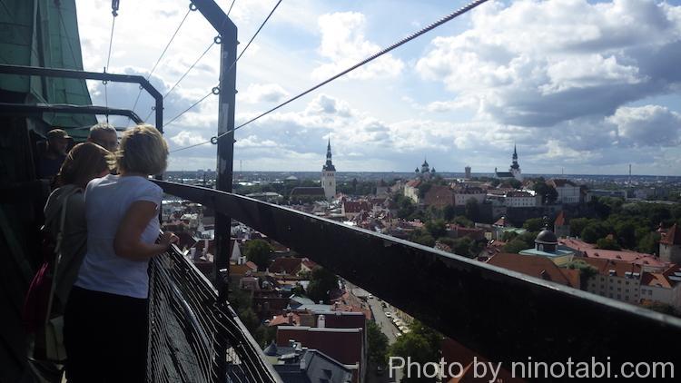 聖オレフ教会の塔からの眺め