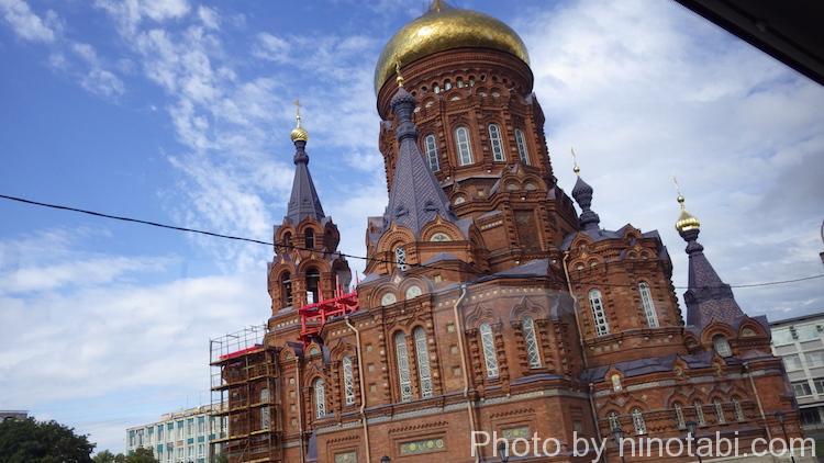 ロシアっぽい教会