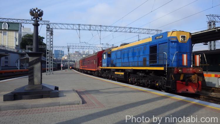 シベリア鉄道乗車