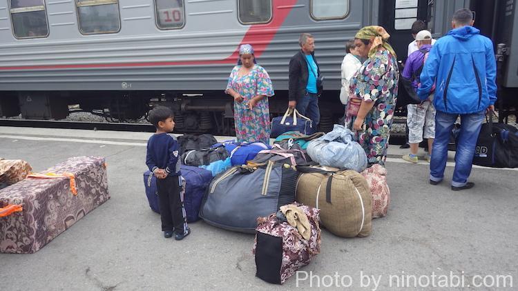 シベリア鉄道中部
