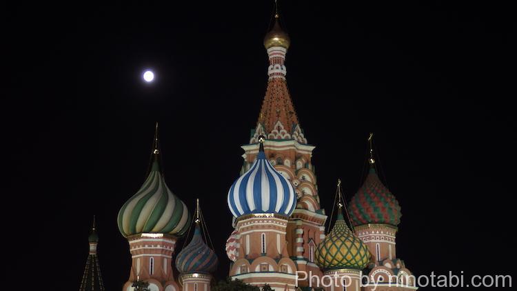 夜の聖ワシリー大聖堂