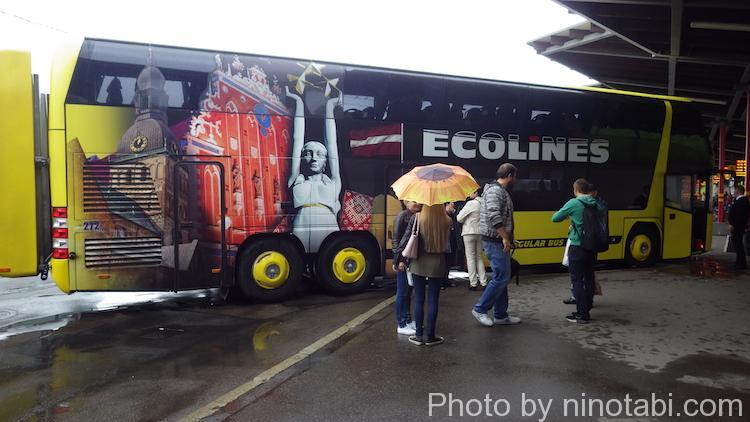ECOLINESのバス