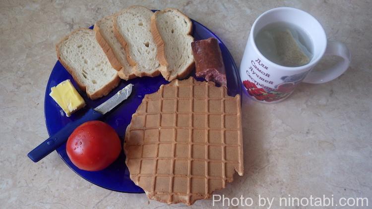 アルトゥーの朝食