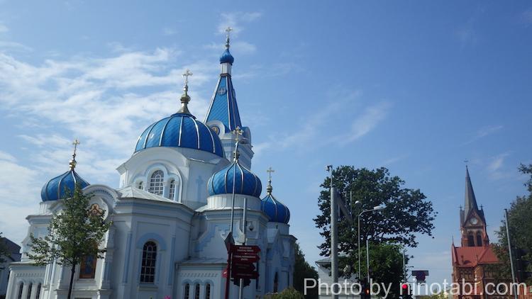 ロシア系教会だろうか