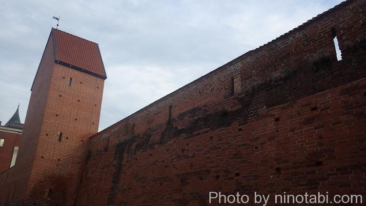 リガ旧市街城壁